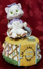 Vintage Simson Cat Home Sweet Home Music Box Good Used Condition