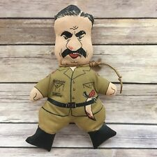 Vintage Saddam Hussein Insane Novelty Gag Plush Doll