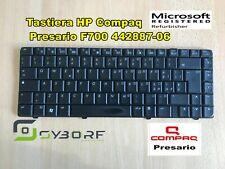 Tastiera HP Compaq Presario F700 442887-061 Originale