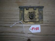 ANTIQUE BRASS LOCK WITH KEEP  (F156)