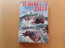 Il mare confina col cielo - libro per ragazzi ed. Paoline 1953