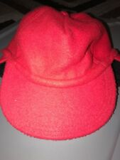 37172c475f8 Vintage Gap Fleece Trapper Hat With Ear Flaps M   L Thinsulate Thermal Red