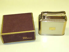 IBELO MONOPOL AUTOMATIC TABLE LIGHTER W. LACQUERED CASE - OVP - 1952 -GERMANY