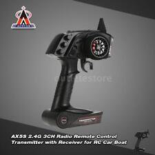 AUSTAR AX5S 2.4G 3CH AFHS Radio Remote Control Transmitter with  Receiver Y1L9