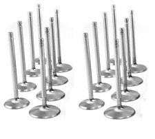 Cadillac 331 365 Intake+Exhaust Valves Set/16 1956 and valve guides
