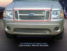 Fedar Fits 2001-2006 Ford Explorer Sport Trac Polished Main Upper Billet Grille