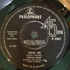 Hear - Great1968 Mod Beat Mover DORIAN GRAY I've Got You/Move On - PARLOPHONE
