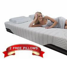 12 Inch Queen Size COOL Memory Foam Mattress Therapeutic Medium Firm Made In USA