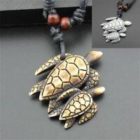 - schmuck schildkröten - anhänger fest amulet nachahmung yak knochen - kette