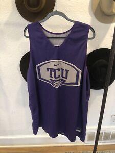 Nike Team TCU Hornfrogs Basketball Team Issue Reversible Practice Jersey XXL/XL