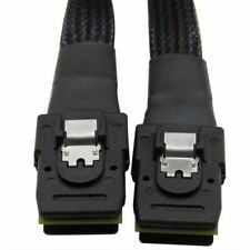 Mini SAS 36P 4i Internal SFF-8087 to Mini-SAS SFF8087 Data Adapter Cable 0.5m