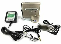"Sony MZ-NH1 ""Walkman"" Hi-MD MiniDisc Player Recorder Portable Audio Sony Japan"