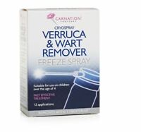 Carnation Cryospray Verruca et Traitement Anti Freeze Spray Facile Usage Works