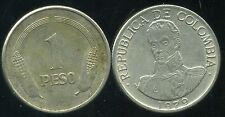 COLOMBIE 1 peso  1979  ( bis )