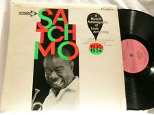 LOUIS ARMSTRONG Satchmo Autobiography Edmond Hall LP