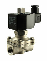 """Normally Open Zero Differential Electric Water Solenoid Valve 1/2"""" Inch 12V DC"""