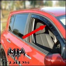 Déflecteurs de vent pluie air teintées Renault Megane II 4p 5p estate SW 02-08