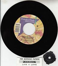 "PRINCE The Morning Papers 7"" 45 rpm vinyl record + juke box title strip NEW"