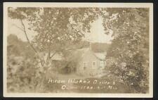 RP Postcard CAPE ROSIER Maine/ME  Hiram Blake's Tourist Camp Cottage 1930's