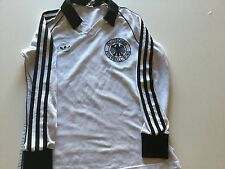 MAGLIA CALCIO GERMANIA ADIDAS fussball trikot vintage made in west germany 1980