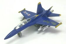 Vintage Diecast Blue Angels F-18 Wheeled Toy Model Aircraft.