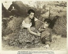 "YVETTE DUGAY & JAMES BEST in ""The Cimarron Kid"" Original Vintage Photo 1951"