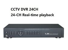 CCTV Security DVR 24CH H.264 HDMI 4CH Audio  24CH Real-Time Playback