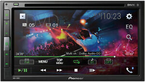 """Pioneer Double 2 Din AVH-310EX RB DVD/MP3/CD Player 6.8"""" Touchscreen Bluetooth"""