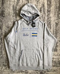 Under Armour UCLA Bruins Size XL Mens On Field Sideline Hoodie Grey Basketball