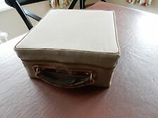 WW2 EQUIPMENT ? G S PORTABLE  CASE CANVAS COVER REENACTMENT ETC