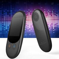 Smart Voice Translator Real Time Translation 52 Languages WiFi Offline Black