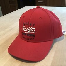 4d4e28c35941c Patagonia Great Pacific Iron Works Script Hat New With Tags - Totally Red -  2016