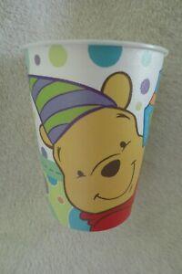 Winnie The Pooh 1st Birthday Party Keepsake Cup Plastic 3D
