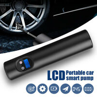 12V Portable Air Pump Wireless Air Electric Tire Inflator Car Bike Bicycle Auto