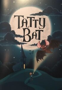 Tatty Bat Children's Story Book Tattershall Church Christian Faith Christmas