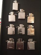 10 Zippo lighter inserts. New Condition. 9pcs Large, 1pc small. Lot #198