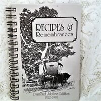 Lemoyne Nebraska Presbyterian Church Ladies Aid Cookbook 1995 Spiral Community