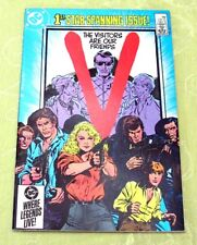 """V"" (the Visitors) Comic #1, Feb 1985 (Near Mint) DC - 1st issue"