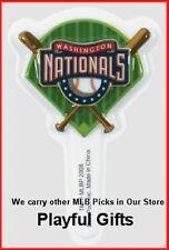 12 Washington Nationals Cupcake Picks MLB Baseball