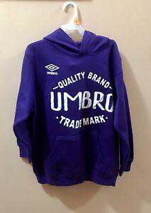 Purple UMBRO Hoodie Pullover Size XLarge Quality Brand TradeMark Sweatshirt