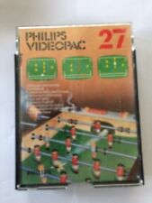 Philips Videopac G7000 Game Cartridge - Number 27 - Electronic table football