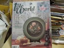 Tole World Magazine February 1994 Malerie/Hallingdal Rosemaling/Love Birds/Door
