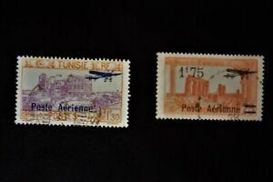 timbres poste aérienne Tunisie