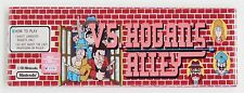 Hogan's Alley Marquee FRIDGE MAGNET (1.5 x 4.5 inches) arcade video game header