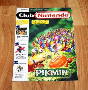 2002 Club Nintendo Magazine Pikmin Eternal Darkness Sonic Adventure 2 V-Rally 3