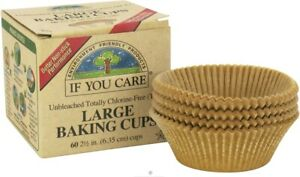 Large Baking Cups by If You Care, 60 piece