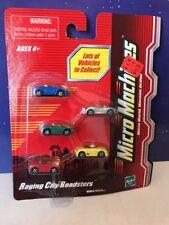 Micro Machines Raging City Roadsters NEW 2003