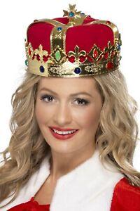 Reine Royal Couronne Adulte Femmes Smiffys Accessoire Déguisement Royauté