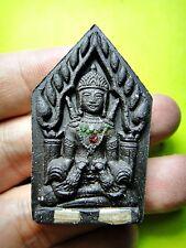 6886-THAI AMULET RAHU KHUN PAEN CHARMING MONEY RICH LUCKY RID DEBS LP KEY BLACK