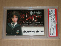 ☀ PSA HARRY POTTER PRISONER OF AZKABAN GENEVIEVE GAUNT AUTOGRAPH AUTO MOVIE CARD